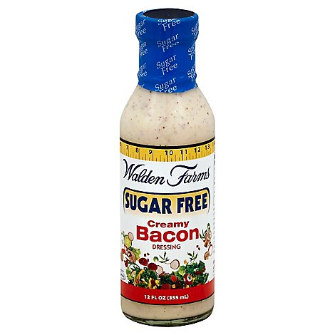 Walden Farms Dressing Sugar Free Creamy Bacon - 12 Fl. Oz.