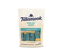 Tillamook Cheese Snack Portions Colby Jack - 10-0.75 Oz