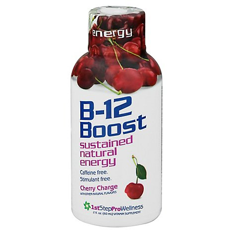 1st Step For Energy Vitamin B12 Liq Chry Chrge - 2 Oz