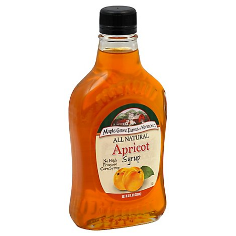 Maple Grove Farms Syrup Apricot - 8.5 Oz