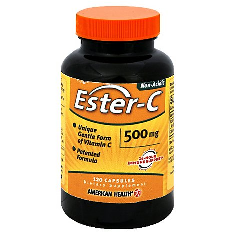 American Health Ester C 500mg - 120 Count