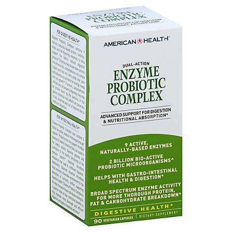 American Health Probiotic Enzyme Cmplx - 90 Count