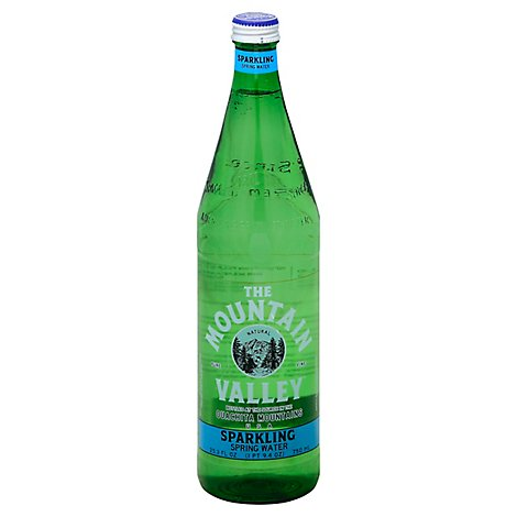 The Mountain Valley Spring Water Sparkling - 25.3 Fl. Oz.