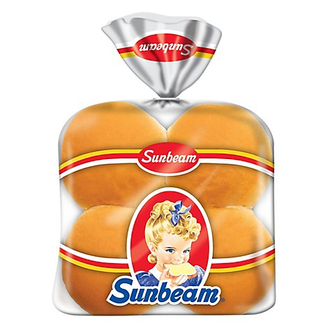 Sunbeam Hamburger Buns 8 Count - 12 Oz