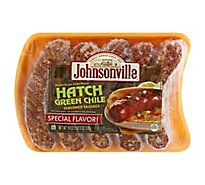 Johnsonville Sausage Hatch Green Chile 5 Links - 19 Oz