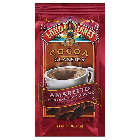 Land O Lakes Cocoa Classics Cocoa Mix Hot Amaretto & Chocolate - 1.25 Oz