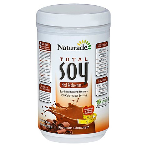 Naturade Soy Total Bav Choc - 17.88 Oz