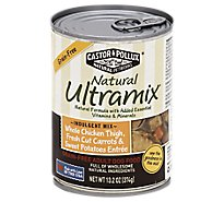 Castor & Pollux Natural Ultramix Dog Food Adult Grain-Free Whole Chicken Thigh - 13.2 Oz