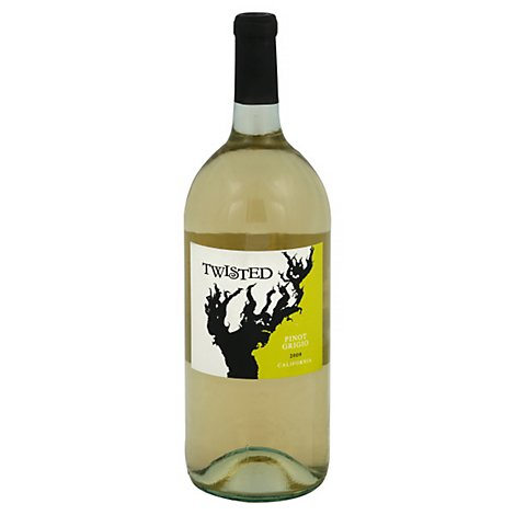 Twisted Pig Pinot Grigio Wine - 1.5 Liter