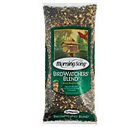 Morning Song Wild Bird Food Birdwatchers Blend Bag - 8 Lb