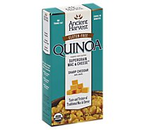 Ancient Harvest Quinoa Mac & Cheese Supergrain Sharp Cheddar - 6.5 Oz