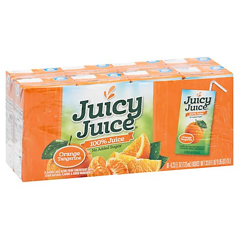 Juicy Juice Orange Tangerine - 8-4.23 Fl. Oz.