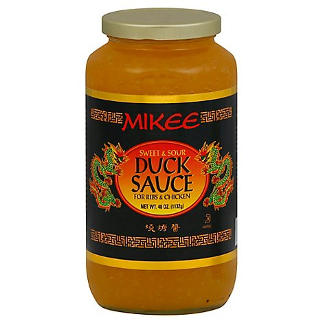 Mikee Sauce Duck Sweet Sour - 40 Oz