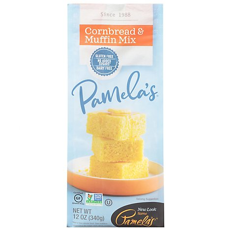 Pamelas Cornbread & Muffin Mix - 12 Oz