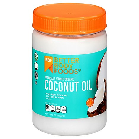 BetterBody Foods Organic Coconut Naturally Refined - 28 Fl. Oz.