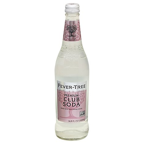 Fever Tree Club Soda - 16.9 Fl. Oz.