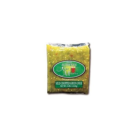 Authentic New Mexican Chopped Green Chili Mild - 3 Lb
