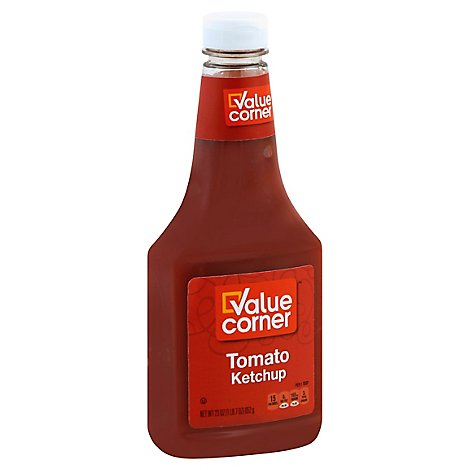 Value Corner Ketchup Tomato - 23 Oz