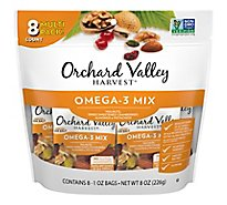 Orchard Valley Harvest Omega 3 Mix Multipack - 8 Oz