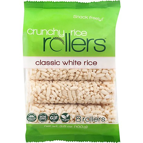Bambo Lane Organic Rice Rollers Crunchy 8 Count - 3.5 Oz