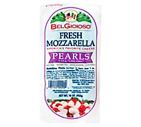 Belgioioso Pearls Mozzarella Log Thermoform - 1 Lb