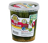 Farm Ridge Garden Frsh Half Sour Pickles - 32 Oz