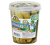 Farm Ridge Garden Fresh Pickle Kosher Dill Spears - 32 Oz