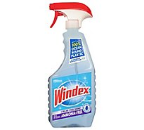 Windex Ammonia-Free Glass Cleaner Trigger Bottle Crystal Rain 23 fl oz
