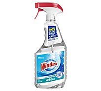 Windex Glass Cleaner Trigger With Ocean Plastic Bottle Vinegar 23 fl oz