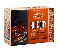 10lb Hickory Wood Pellet Box - 10 Lb