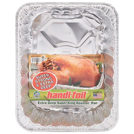 Handi-Foil Pan Roaster Extra Deep Super King - Each