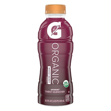Gatorade G Series Thirst Quencher Organic Mixed Berry - 16.9 Fl. Oz.