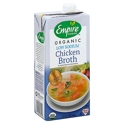 Empire Kosher Soup Chckn Brth Ls Brth - 32 Oz