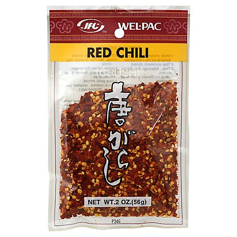 Wel Pack Specialty Food Chili Crushed - 2 Oz