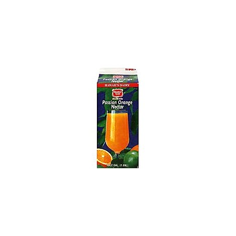 Meadow Gold Orange Passion Nectar Chilled - 64 Fl. Oz.