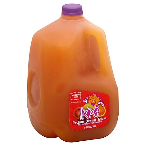 Meadow Gold Passion Orange Guava Juice Chilled - 128 Fl. Oz.