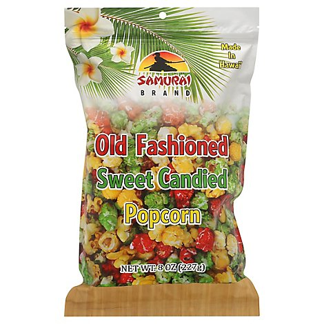 Samurai Popcorn Old Fashioned Sweet Candied - 10.5 Oz