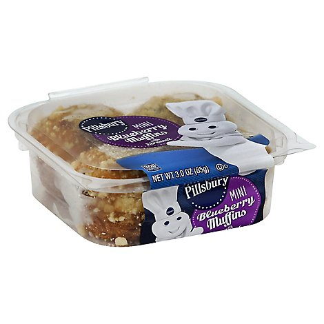 Pillsbury Mini Muffins Blueberry With Streusel - 3 Oz