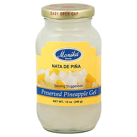Monika Nata De Pina Pineapple Gel - 12 Oz