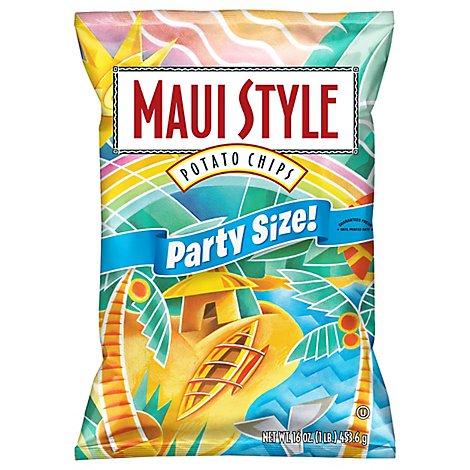 Maui Style Potato Chips Regular - 16 Oz