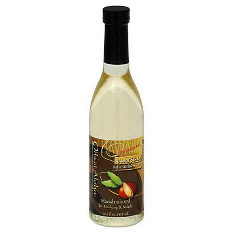 Oils Of Aloha Macadamia Oil Hawaiis Gold - 12.7 Fl. Oz.