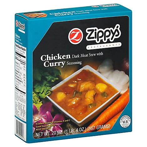 Zippys Chicken Curry - 20 Oz