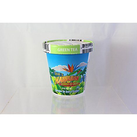 Dave S Green Tea Ice Cream - 14 Fl. Oz.