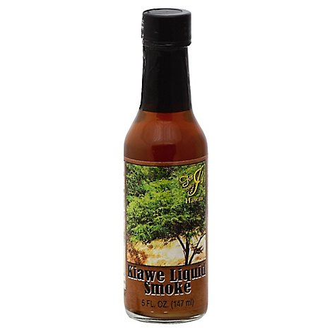 Js Hawaii Liquid Smoke Kiawer - 5 Fl. Oz.