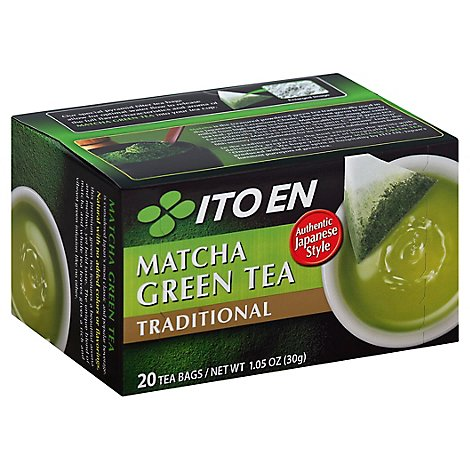 Ito En Matcha Green Tea Traditional 20ct - 1.05 Oz