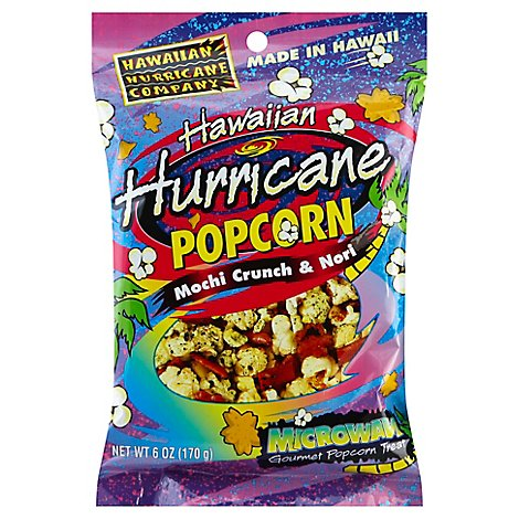 Hawaiian Hurricane Popcorn Hawaiian Mochi Crunch & Nori Bag - 6 Oz