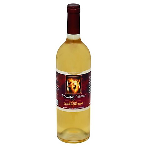 Volcano Hawaiian Guava Wine - 750 Ml
