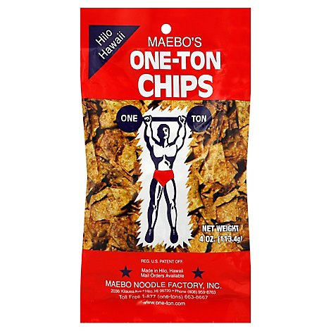 Maebos Chips One-Ton - 4 Oz