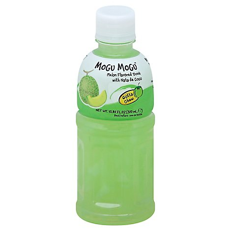 Mogu Mogu With Nata De Coco Melon Flavor - 320 Ml