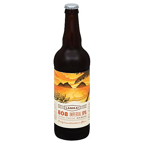 Lanikai Moku Imperial Ipa In Bottles - 22 Fl. Oz.